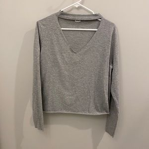 Pimkie Collection Grey Long Sleeve with Cut Out